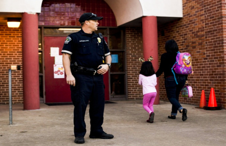 Охрана школ и дошкольных учреждений